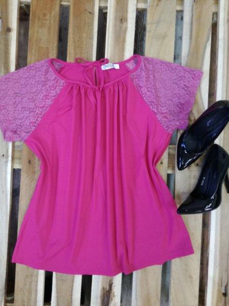 Дамска блуза Muza в розово